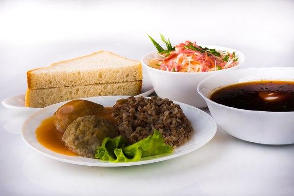 Комплексный обед - заказ еды в офис в СПБ