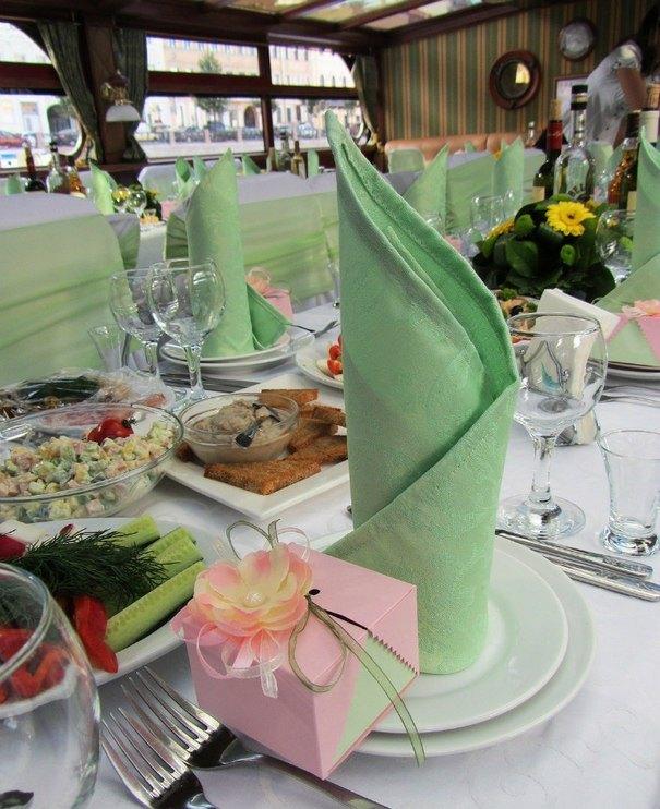 Оформление тканями праздничного мероприятия в СПБ